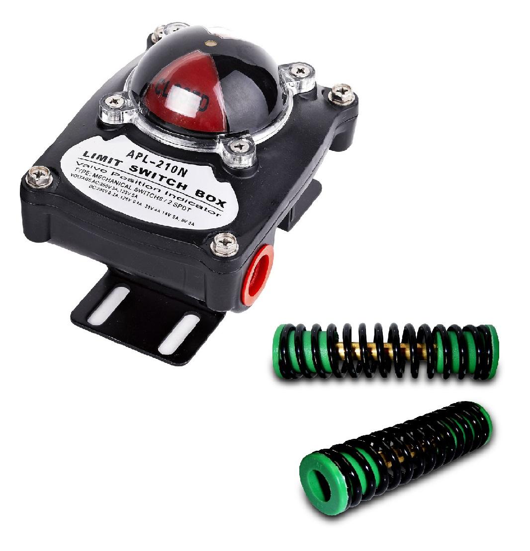Komponenten von pneumatischen Antrieben