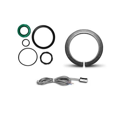 Komponenten für Aktuatoren ISO 15552/6431