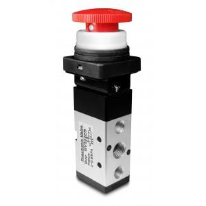 Handventil 5/2 MV522EB 1/4 Zoll Antriebe