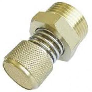 Luftauslass Schalldämpfer mit Durchflussregler BESLD 3/8 Zoll
