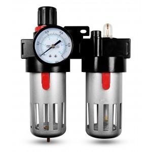 Filter Dehydrator Regler Öler FRL 1/2 Zoll Luft BFC4000 eingestellt