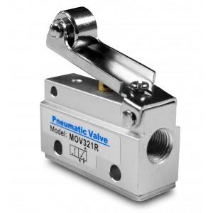 Handventil 3/2 MOV321R 1/8 Zoll Antriebe