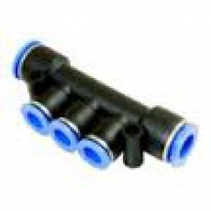 Verteiler, der den Stecknippel PKG10-08 reduziert