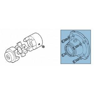 Kupplung + Adapter für Pumpensatz RO