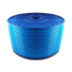 Polyurethan-Pneumatikschlauch PU 6/4 mm 200m blau