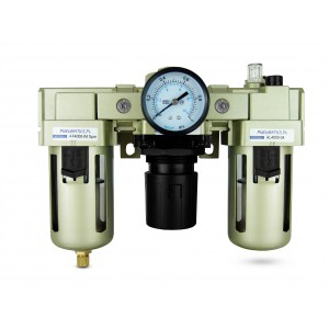Filter Dehydrator Regler Öler FRL 1/2 Zoll Luft AC4000-04 eingestellt