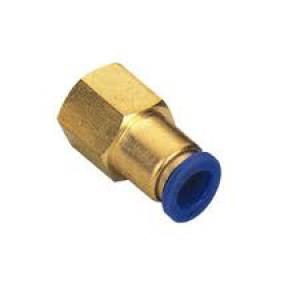 Stecknippelschlauch 6mm Innengewinde 1/4 Zoll PCF06-G02