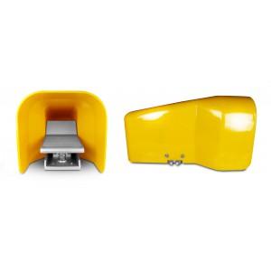 Fußventil, Luftpedal 5/2 1/4 für Zylinder 4F210LG - bistabil mit Deckel