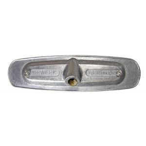 Aluminium-Montageplatte zum Bürsten Vorwerk
