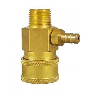 Hochdruckschnellverbinder 3/8 Zoll mit Chemiesauginjektor