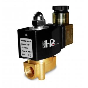 Magnetventil 2N08 1/4 230V oder 24V, 12V Viton - beständig gegen Chemikalien