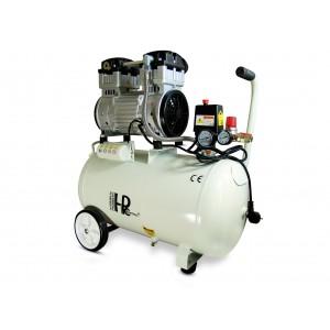 Geräuscharmer, ölfreier Kompressor 1100W 50l