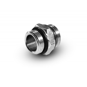 Nippel 1/4 - 1/4 Zoll G02-G02 O-Ringe