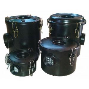 Luftfilter mit Gehäuse für Wirbelluftpumpe 1 1/4 Zoll