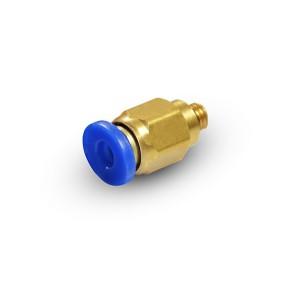 Stecknippel gerader Schlauch 6mm Gewinde M5 PC06-M05