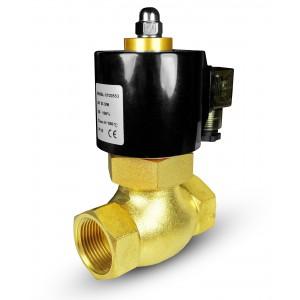 Magnetventil für Dampf und Hochtemperatur 2L40 DN40 180 ° C 1 1/2 Zoll