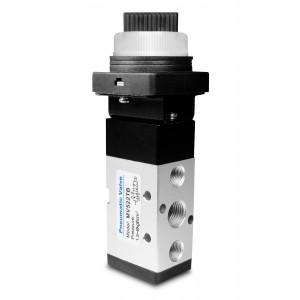 Manuelles Ventil 5/2 MV522TB 1/4 Zoll Aktuatoren
