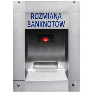Geldwechsler für Banknoten zur Autowäsche (wasserdicht)