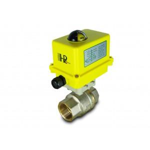 Kugelhahn 1 1/2 Zoll DN40 mit elektrischem Antrieb A250