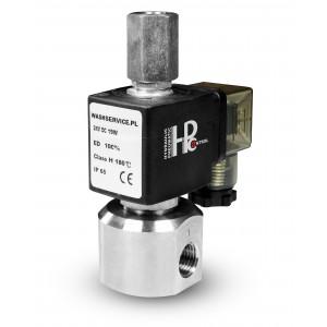 3-Wege Magnetventil RM23-02 3 x 1/4 Zoll