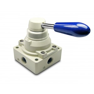 Manuelles Ventil 4/3 4HV230-08 1/4 Zoll Antriebe