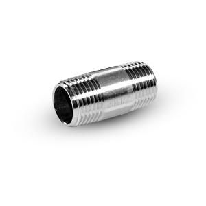 Rohrnippel Edelstahl 1/2 Zoll 42 mm