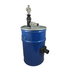 Staubsaugertank 60l mit Druckluftfilterreinigung