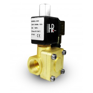 Magnetventil 2K25 offen NO 1 Zoll 230V oder 12V 24V