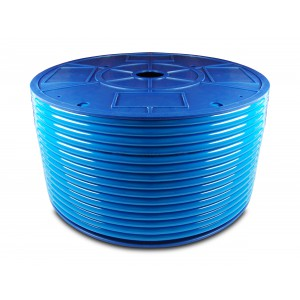 Polyurethan-Pneumatikschlauch PU 4 / 2,5 mm 1m blau