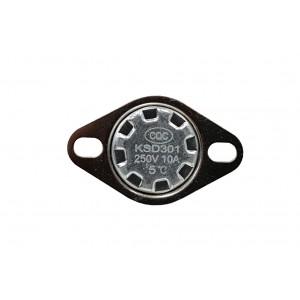 Bimetallthermostat, NC-Temperatursensor 5 ℃ 10A 230VAC Typ KSD301