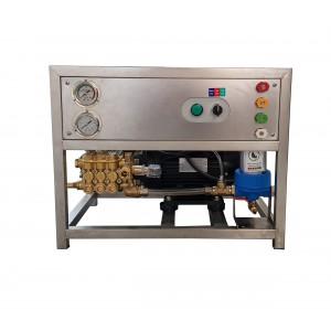 Stellen Sie Pumpe und Motor auf den Rahmen, um sie mit Zubehör zu waschen. 13 l / min 150 bar Äquivalent CAT350