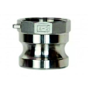 Camlock-Anschluss - Typ A 1/2 Zoll DN15 SS316